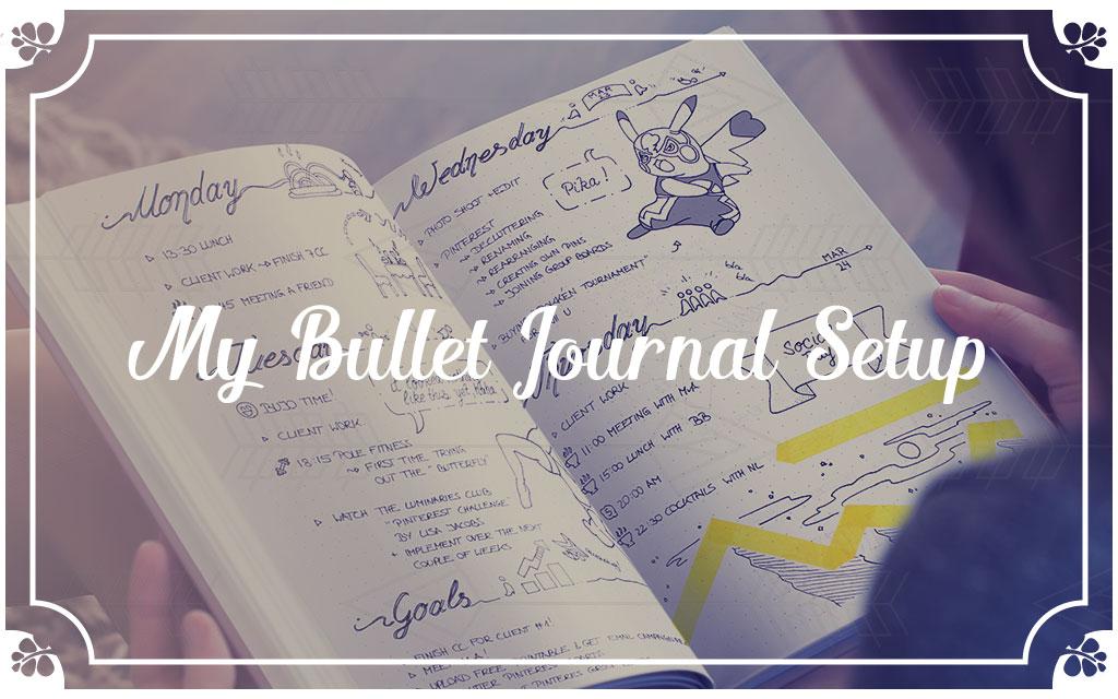 Bullet Journal Setup June 2016 - Wundertastisch