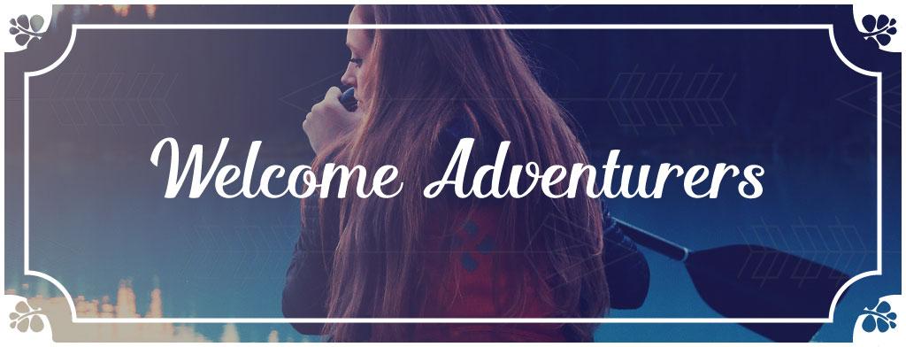 Welcome Adventurers Header - Wundertastisch