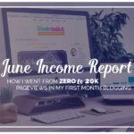 Blog Traffic & Income Report June 2016