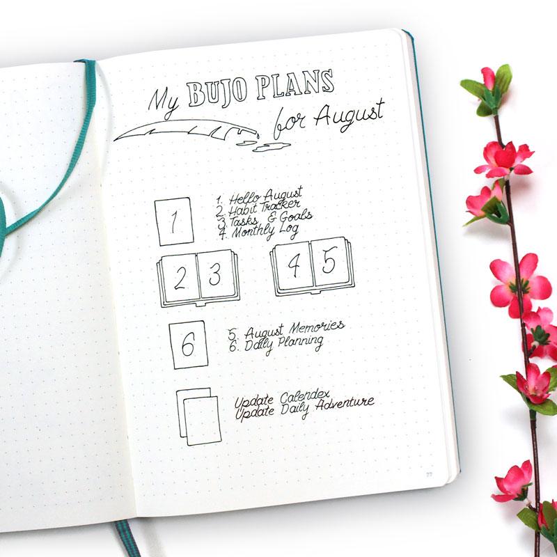 My BuJo Plans For June - Wundertastisch